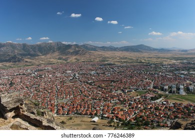 City Prilep - view from Marko's tower