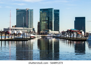 City Reflection -Baltimore Inner Harbor