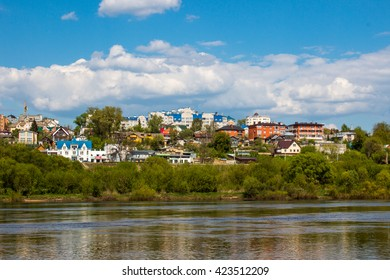 city ??on the river, Russia , Kaluga