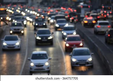 city road vehicles
