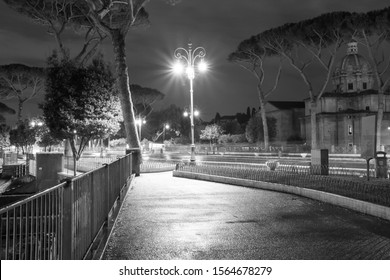 city of rome by night