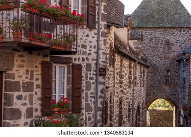 City of Salers, Cantal, France