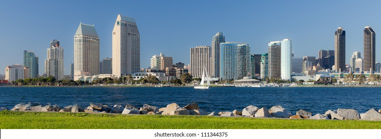City of San Diego, Downtown Cityscape, San Diego California, USA