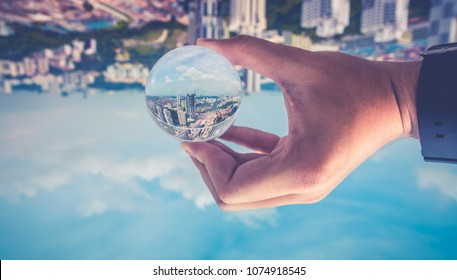 City Scape CrystalBall