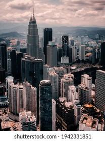 City scape view of kualalumpur, Malaysia