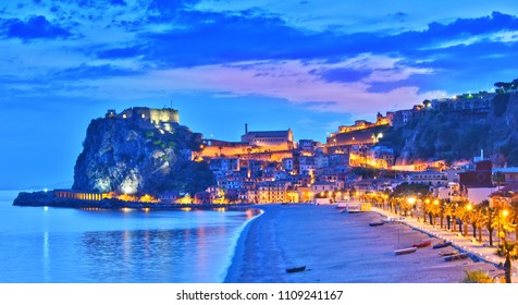 The city of Scilla in the Province of Reggio Calabria, Italy.