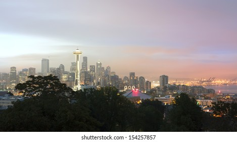 City of Seattle in the Morning