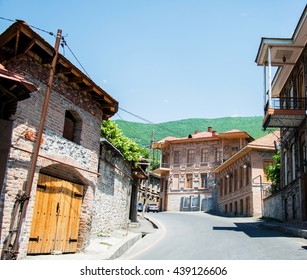 City of Sheki in Azerbaijan