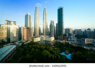City skyline, Kuala Lumpur Malaysia