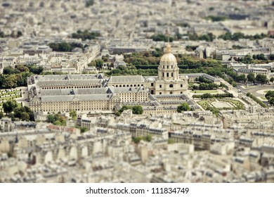 City skyline -Les Invalides,  Paris, France The National Residence of the Invalids