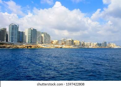 City of Sliema in Malta