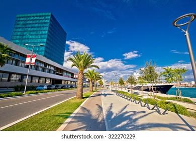 City of Split west coast view, Dalmatia, Croatia