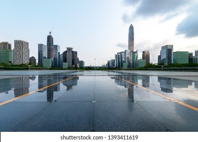 City square in shenzhen, China