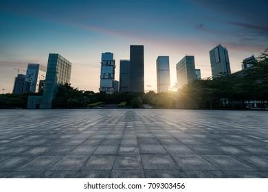 city square at shenzhen,china
