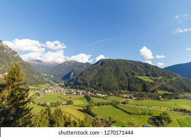 City of Sterzing, South Tyrol, Italy on a sunny day