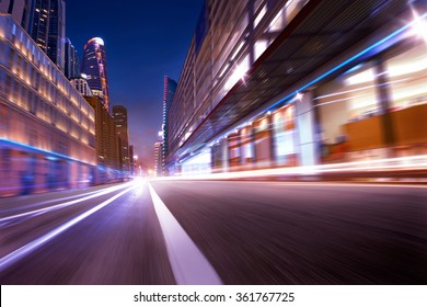 city street motion blur background,dramatic mood