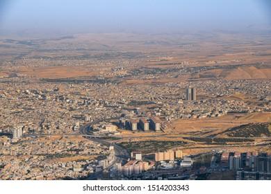 City of Sulaymaniyah summer 2019.