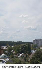 City summer view
