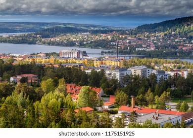 City of Östersund in Jämtland Sweden