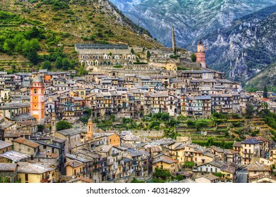 From the City of Tende, Alpes-Maritimes, Provence, France