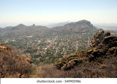 City of Tepoztlan, Mexico