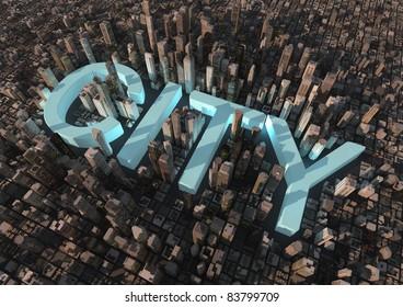 City text