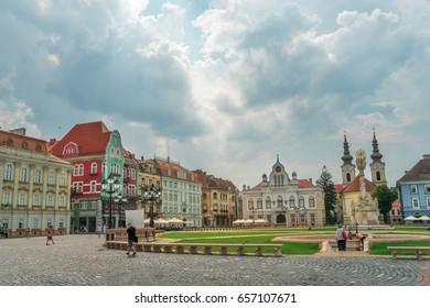 City of Timisoara in Romania