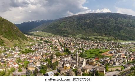 City of Tirano - Valtellina, Province of Sondrio