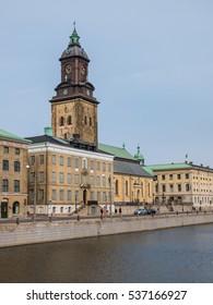 City tower in Karlstad, Sweden