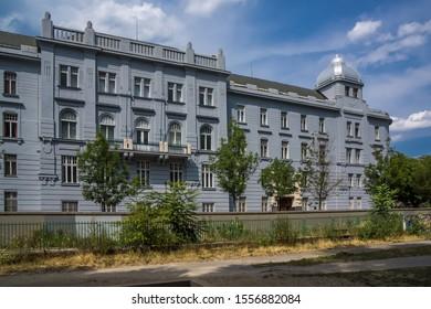 City trip to bratislava in Slovakia historic center of bratislava old architecture - Shutterstock ID 1556882084