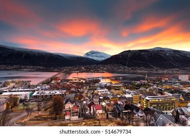 city of Tromso, Norway