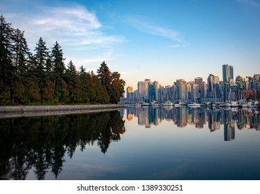 City of Vancouver Canada and Capilano Bridge