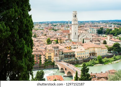 the city of verone verona in italy eyrupoe tourisme from the top of the city of love romeo and juliet
