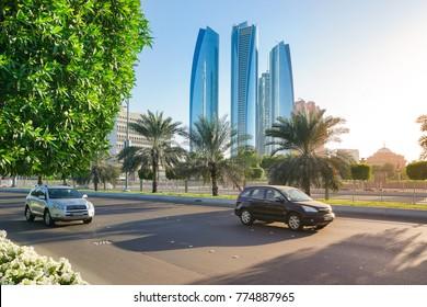 City view of abu dhabi, Capital of the UAE