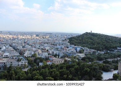 City view from Acropolis, Athens
