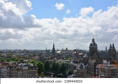 City view at Amsterdam