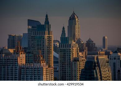 City view of Bangkok, Thailand