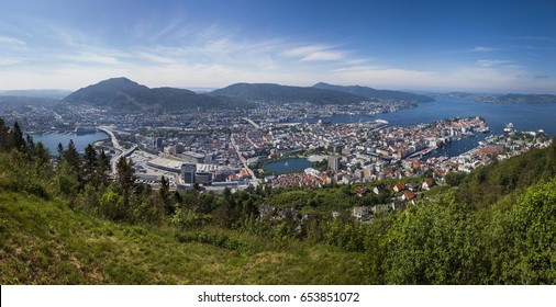 City view of Bergen, Norway
