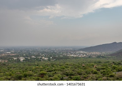 City View from hill top image is taken from marudhmalai temple which is in coimbatore tamilnadu india.