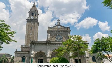 City View of Intramuros in Manila