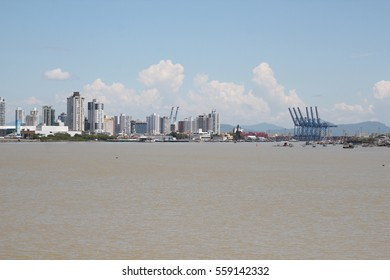 City View of Itajai - Santa Catarina - Brazil