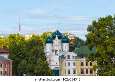 City view, Kostroma, Golden Ring of Russia