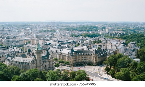 City view in Luxembourg