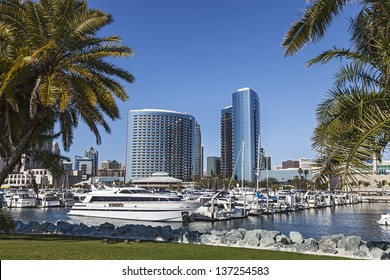 City View with Marina Bay at San Diego, California