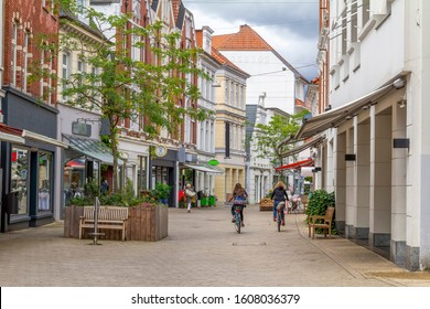 city view of Oldenburg, a independent city in Lower Saxony, Germany