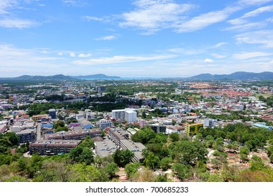 City view of Phuket in Thailand.