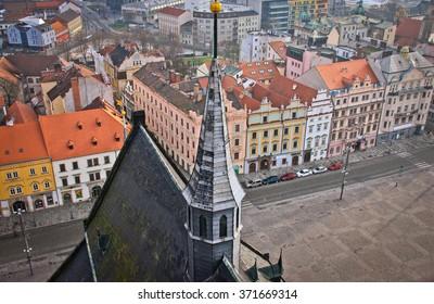City view of Plzen