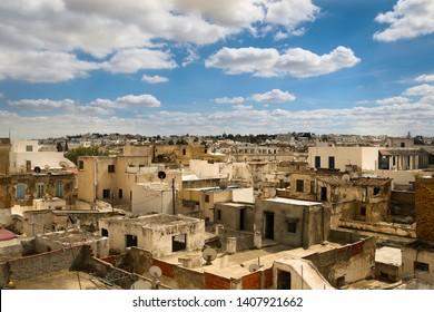City view of Tunisian capital Tunisia