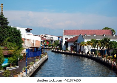 City views of Malacca, Malaysia. Malacca has been listed as a UNESCO World Heritage Site since 7 July 2008