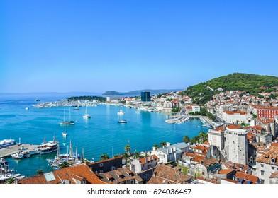 City vista-Split, Croatia